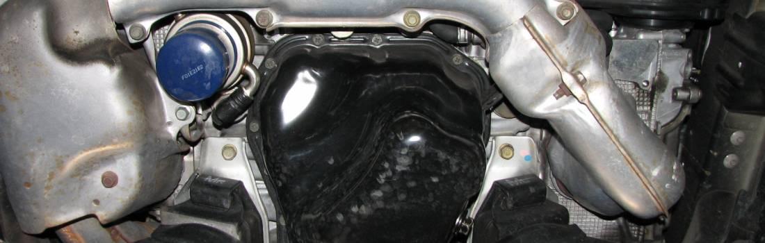 Change The Motor Oil And Filter On A Subaru Impreza Wrx Sti