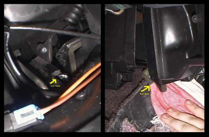 Image 7 from Changing the Heater Core on a GMC Syclone