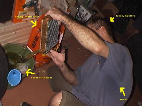Image 2 from Changing the Heater Core on a GMC Syclone