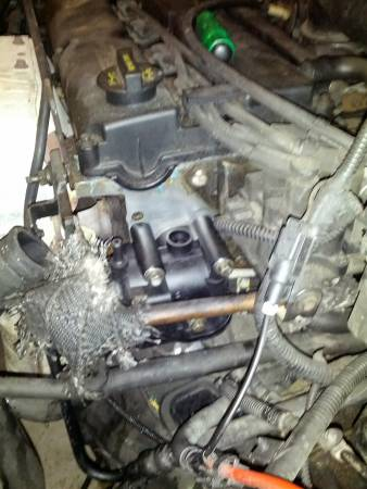 Image 974 from Replace the Thermostat Housing on a 2002 Ford Focus
