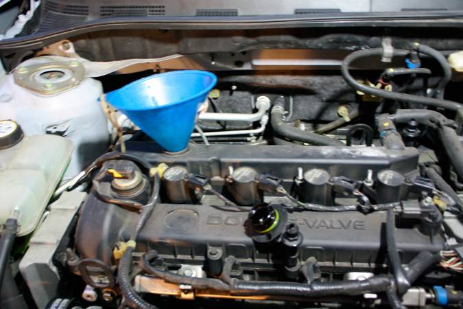 Image 1866 from Changing the Oil on a Mazda 3 2.3L