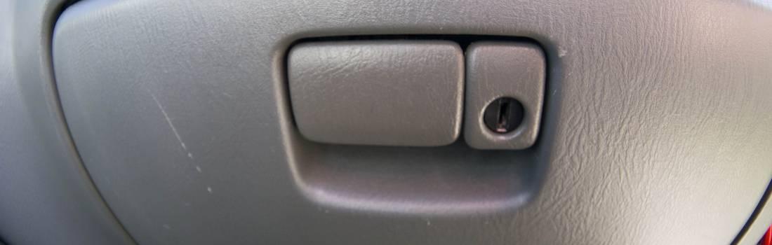 Replacement glove box latch