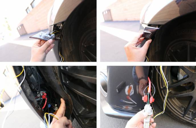 Image 2010 from How To Install the IJDMTOY LED Side Marker Lamps on a Scion FR-S