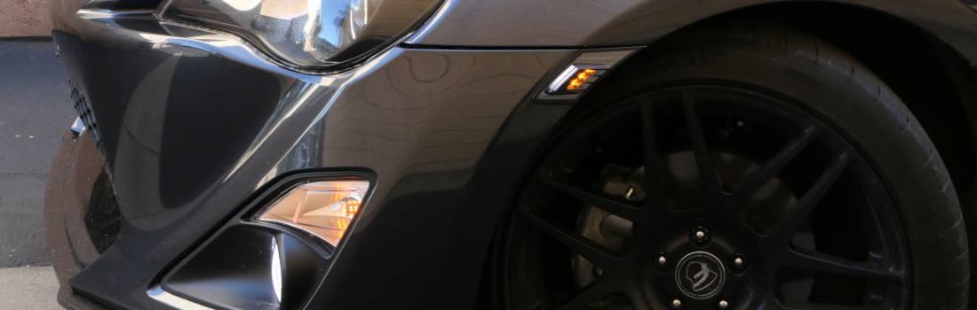 LED Amber light side marker lamp for BRZ TOYOTA GT86 09-17 ECE LED Amber Turn Signal Light with Smoke Lens