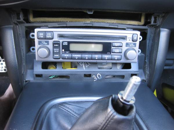 Image 2172 from Upgrade the Radio With Modifry Dash Controls on a Honda S2000