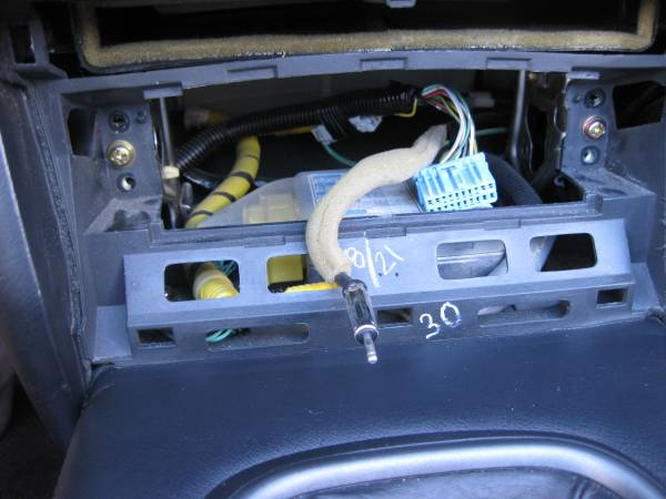 Image 2178 from Upgrade the Radio With Modifry Dash Controls on a Honda S2000