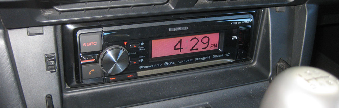 Upgrade the Radio With Modifry Dash Controls