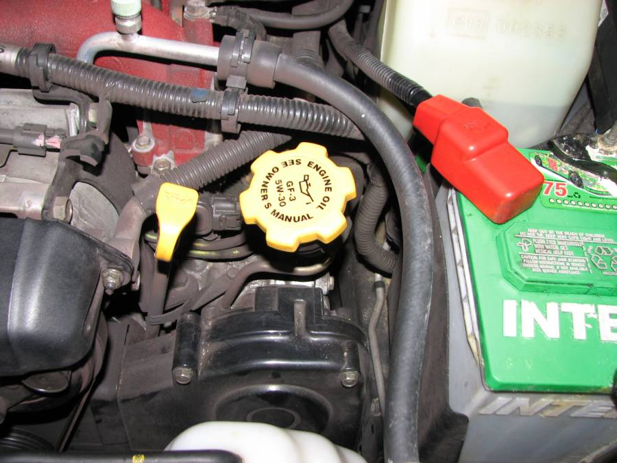 Image 2628 from Change the Motor Oil And Filter on a Subaru Impreza ...