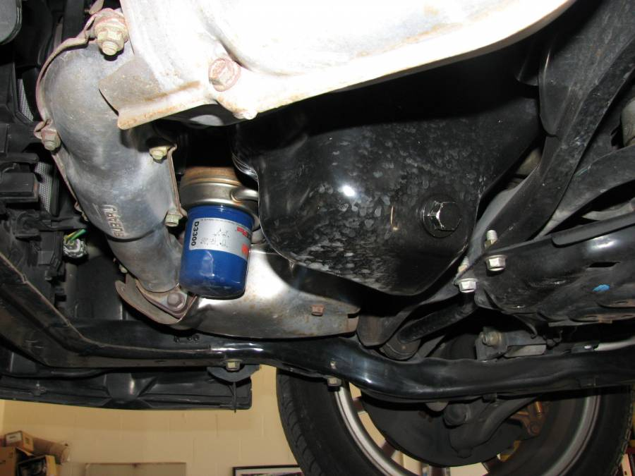 Change the Motor Oil And Filter on a Subaru Impreza WRX STI