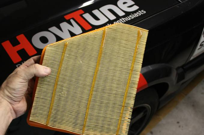 Image 2888 from Replace the Air Filter on a Chevrolet Camaro
