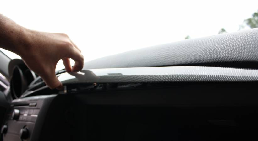 Изображение 3369 от смены салона Воздушный фильтр на Mazda3