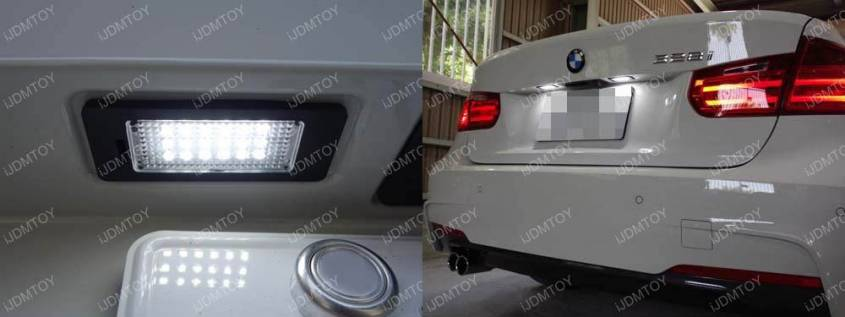 Image 3590 from Install LED License Plate Light on a BMW