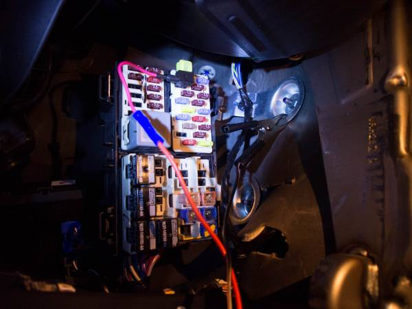 Image 3620 from Install the Wiring For A Dashcam on a 2014 Ford Fiesta