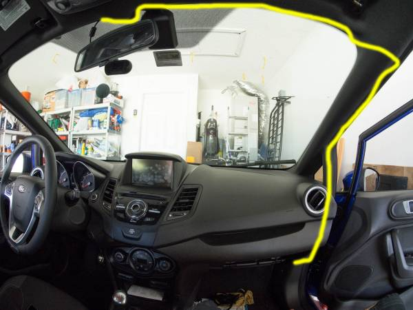 Image 3632 from Install the Wiring For A Dashcam on a 2014 Ford Fiesta