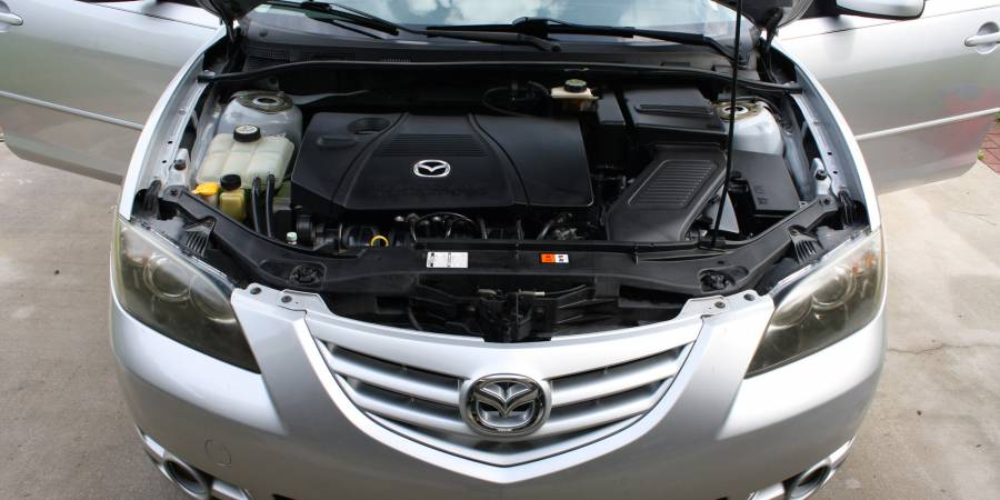 replace the passenger side motor mount on a mazda 3 and mazda 5 2.3