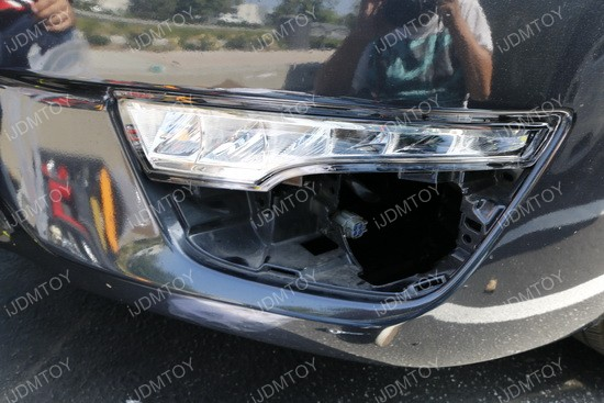 Image 3767 from Install LED Daytime Running Lights/turn Signal Lamps on a Nissan Altima