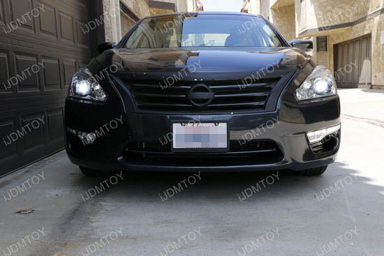 Image 3773 from Install LED Daytime Running Lights/turn Signal Lamps on a Nissan Altima