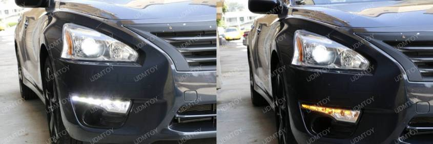 Image 3776 from Install LED Daytime Running Lights/turn Signal Lamps on a Nissan Altima