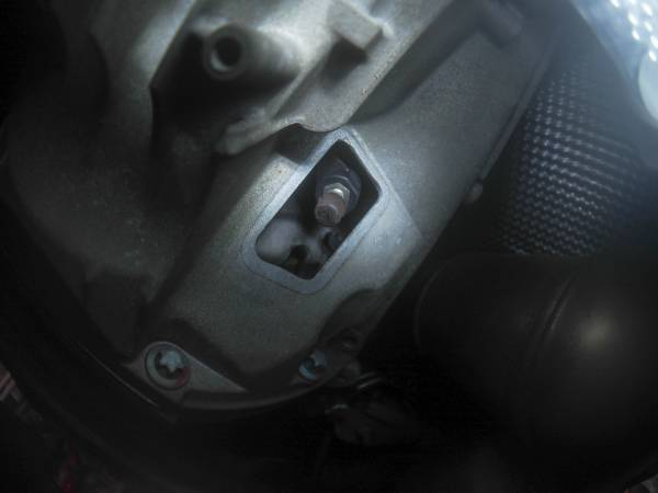Image 3845 from Bleed the Clutch on a Chrysler Crossfire