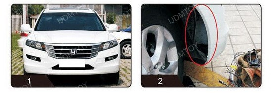 Image 3971 from How To Install the LED Daytime Running Lights on a Honda Crosstour