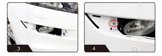 Image 3974 from How To Install the LED Daytime Running Lights on a Honda Crosstour