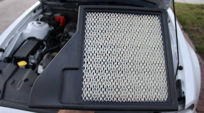 Image 4275 from Replace the Air Filter on a 3.7 V6 Ford Mustang