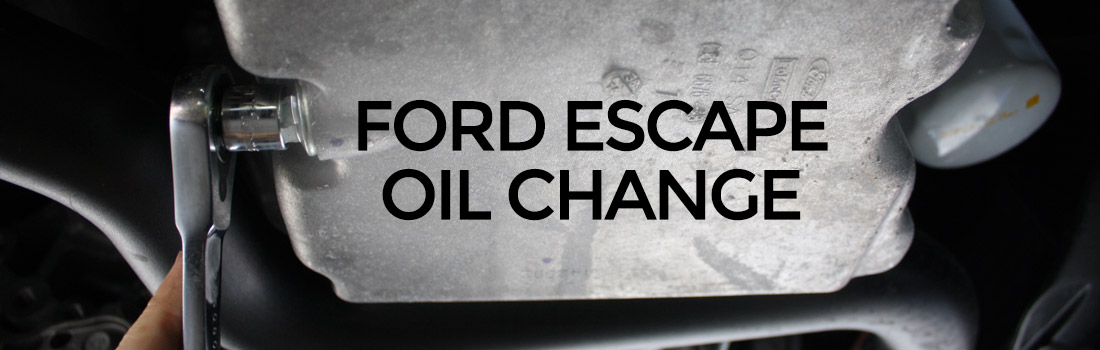 Change The Oil On A Ford Escape