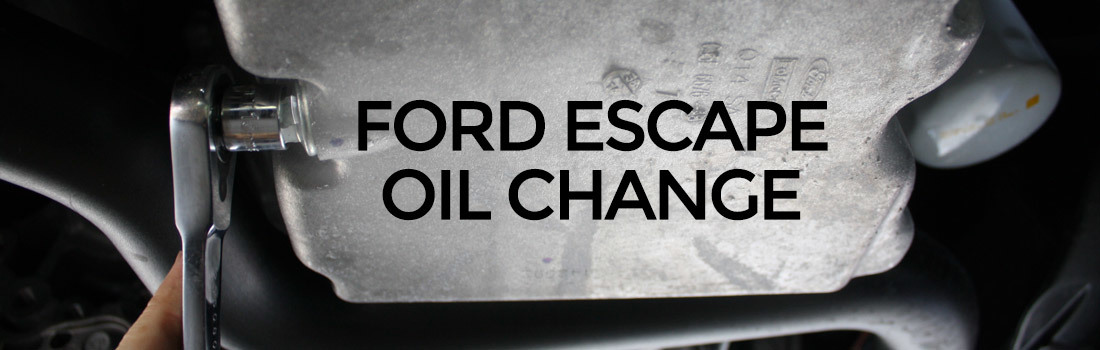 2012 Ford Escape Oil Type >> Change The Oil On A Ford Escape
