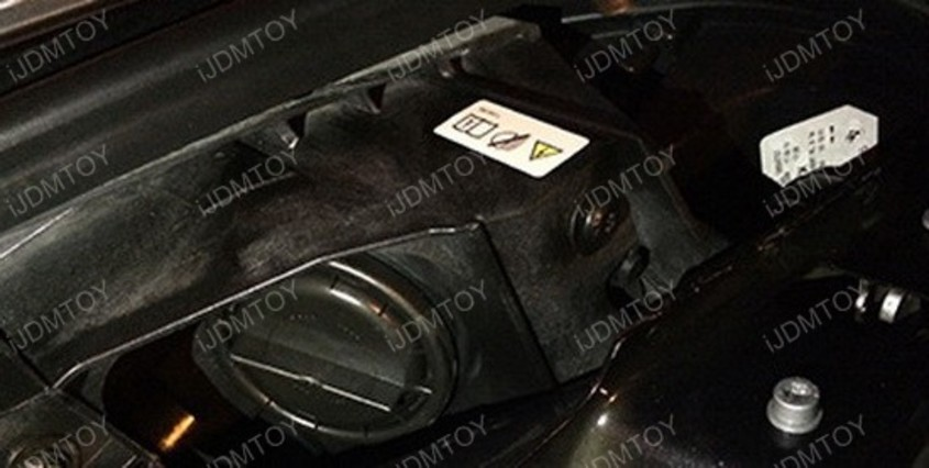 Image 4617 from Install the H8 LED Angel Eye Bulbs on a BMW
