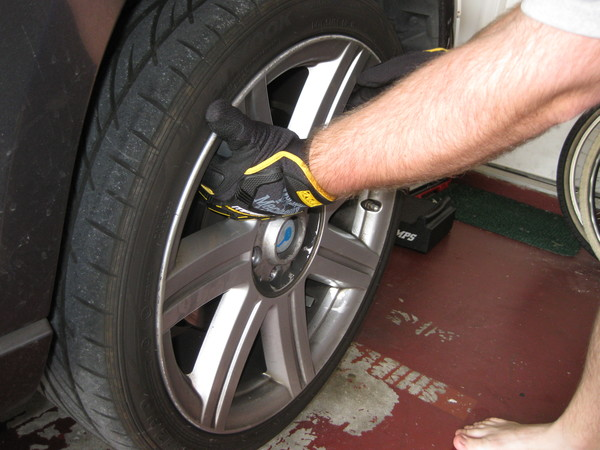 Image 5118 from Replace the Front Brake Pads on a Chrysler Crossfire