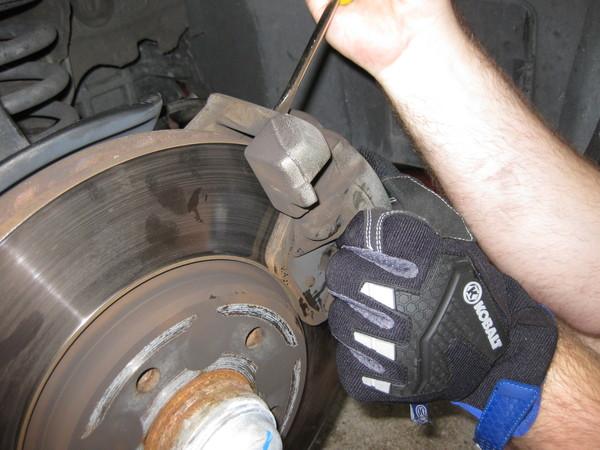 Image 5121 from Replace the Front Brake Pads on a Chrysler Crossfire