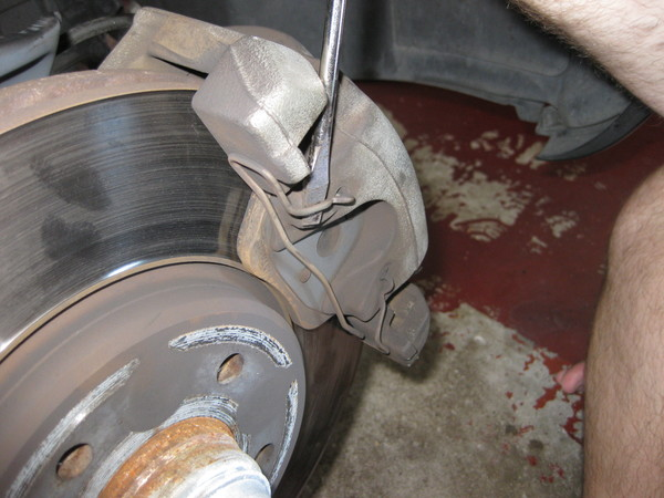 Image 5124 from Replace the Front Brake Pads on a Chrysler Crossfire