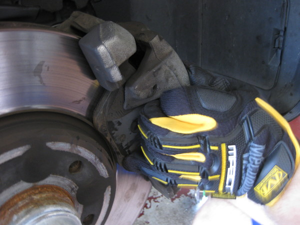 Image 5130 from Replace the Front Brake Pads on a Chrysler Crossfire