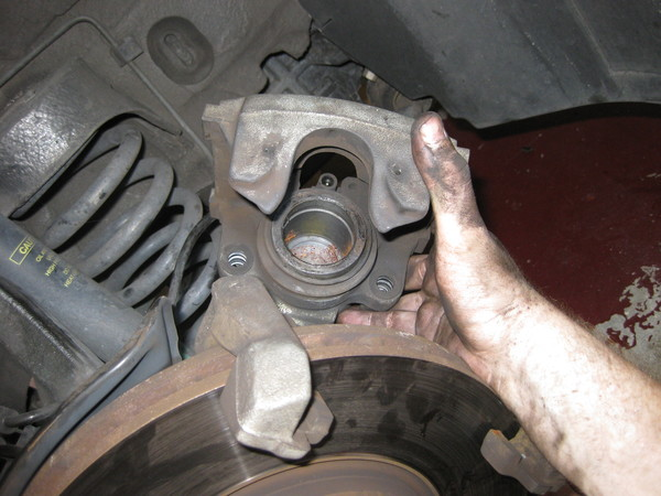 Image 5145 from Replace the Front Brake Pads on a Chrysler Crossfire