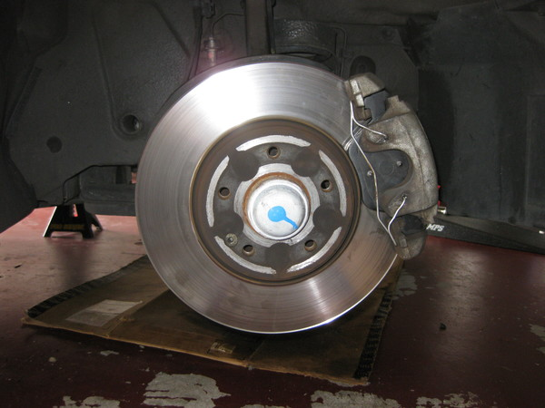 Image 5154 from Replace the Front Brake Pads on a Chrysler Crossfire
