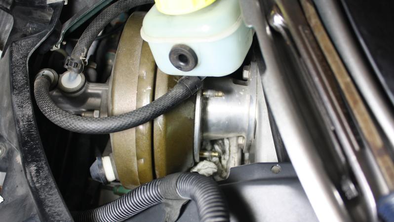 remove clutch master cylinder