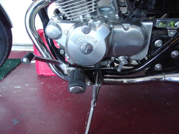 Image 5441 from Adjust the Shifter Height on a Honda Rebel 250