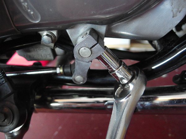 Image 5450 from Adjust the Shifter Height on a Honda Rebel 250