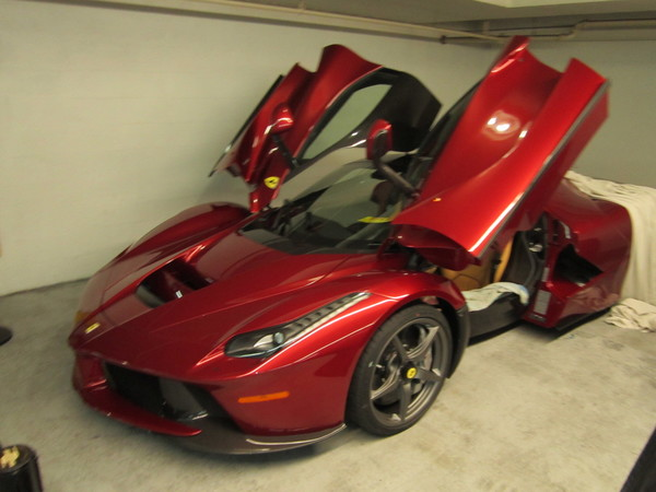 Image 5606 from Getting the Power For Accessories Like A Radar Detector on a Ferrari LaFerrari
