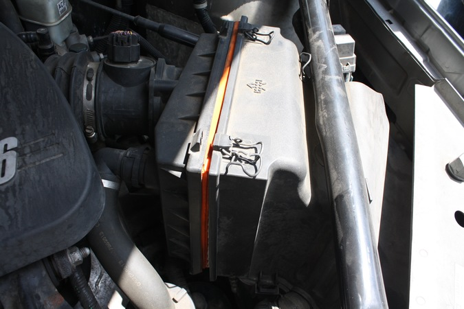 Image 5703 from Change the Air Filter on a Chevrolet Impala