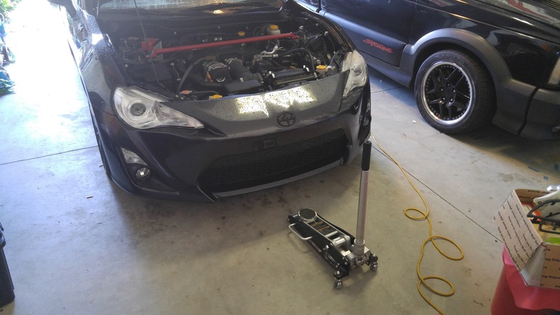 Change the Oil And Filter on a Scion FR-S and Subaru BRZ