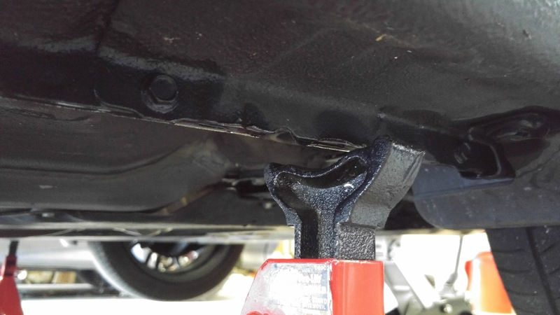Image 5786 from Using a Jack and Jack Stands on a Scion FR-S and Subaru BRZ