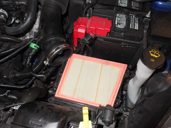 Image 6003 from Replace the Air Filter on a 2014 Ford Fiesta ST