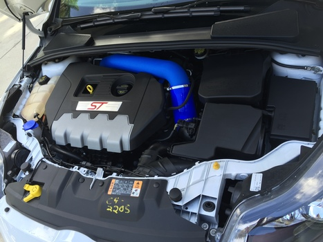 "Image 6207 from Install the C-F-M Performance 3"" Intake + Silicone Elbow on a 2014 Ford Focus ST"