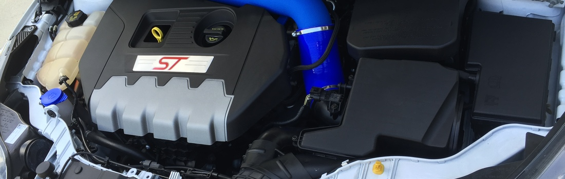 "Install the C-F-M Performance 3"" Intake + Silicone Elbow"