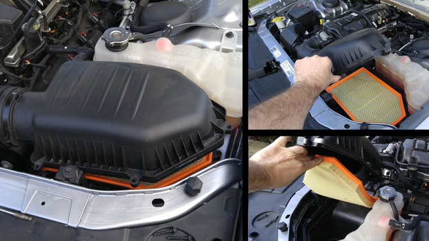 Image 6213 from Change the Engine Air Filter on a 2011-Up Dodge Challenger & Charger
