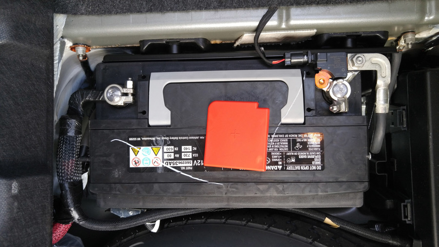 Image 6225 From Replace The Battery On A Dodge Challenger
