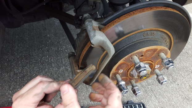Image 6613 from Change the Rear Brake Pads on a Honda S2000