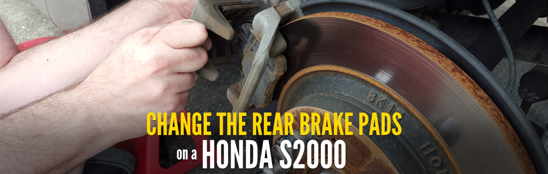 Change the Rear Brake Pads