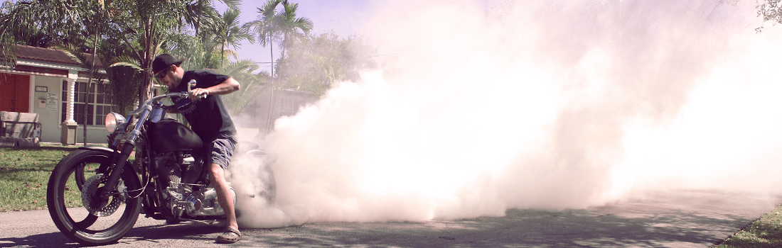 How To Do A Burnout : Glenn's Guide for Beginners